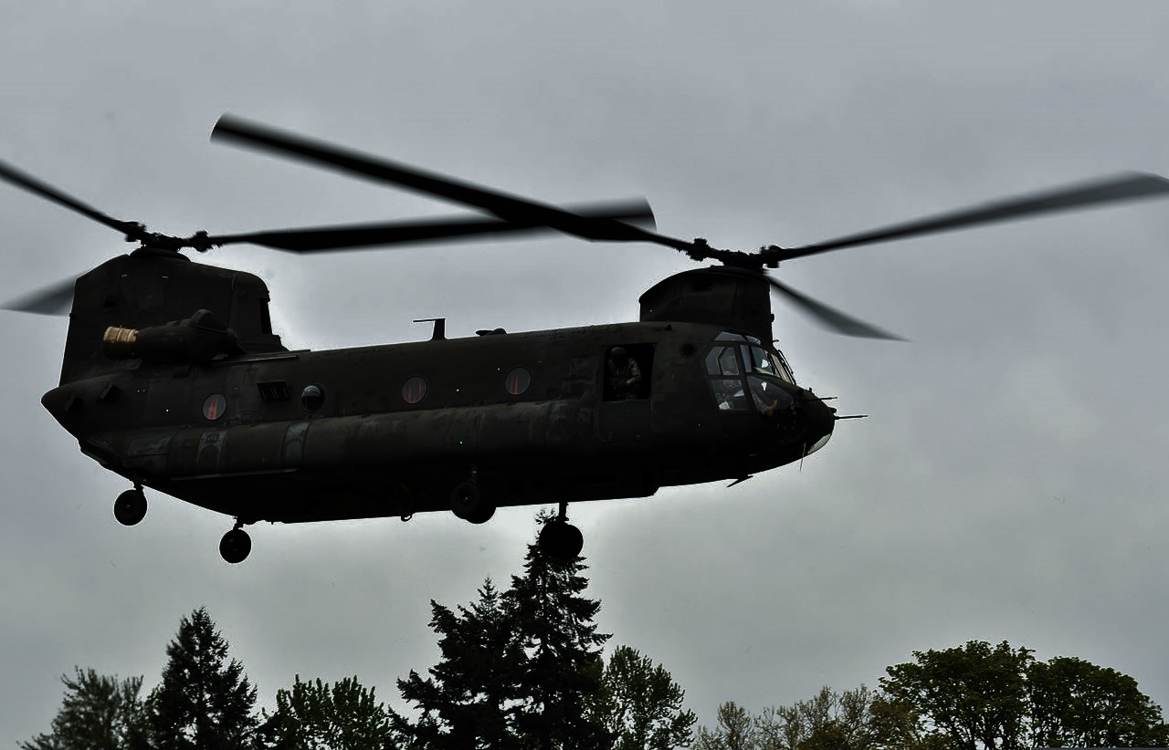 Chinook at Deelen airport